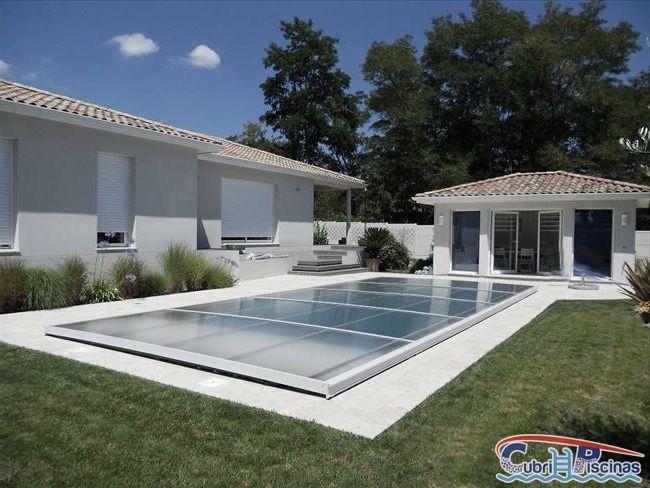 Cubiertas planas no estructuras para placas solares en for Cubierta piscina transitable